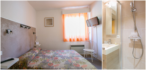 Les chambres h tel bel ombra for Chambre 13m2 avec douche